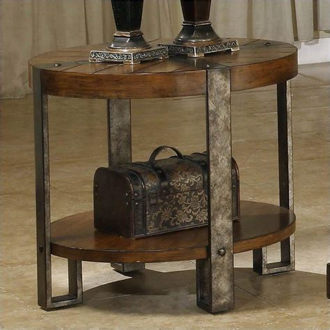 Round Rustic End Table Coffee Table Design Ideas Rustic Coffee Table And End Tables