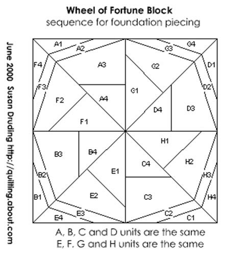Foundation Patchwork Patterns Free - free quilt patterns block of the month 2 pinwheel wheel