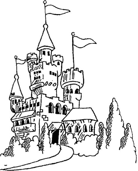 halloween coloring pages castle kids n fun 20 kleurplaten van kastelen