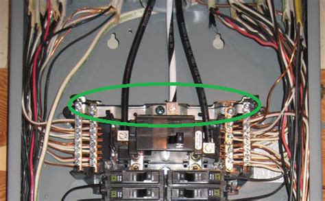 electrical can i terminate a ground wire to the neutral