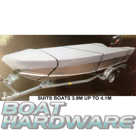 boat canvas hull ma open boat tinnie dinghy cover 3 9to4 1m v hull water uv