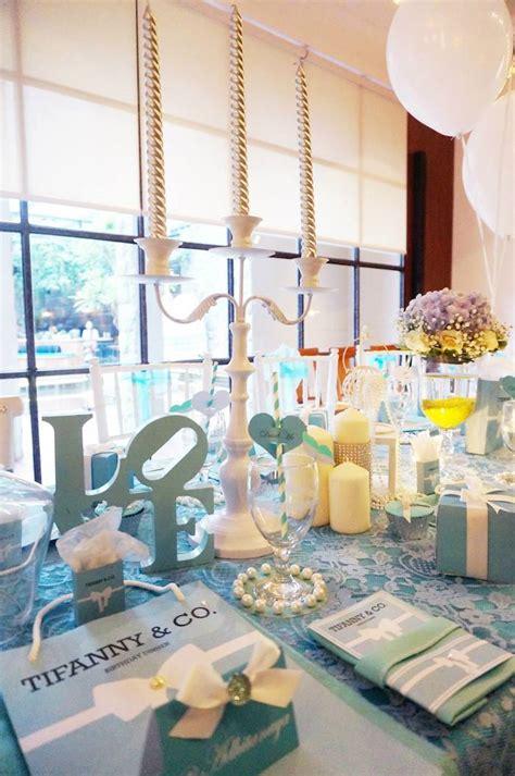 tiffany themed birthday party kara s party ideas tiffany co themed birthday party via