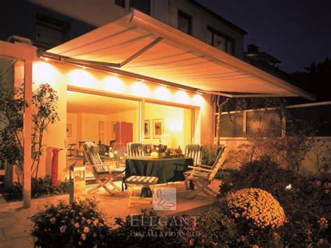 patio awning lights awnings with lights patio awning lights by elegant uk
