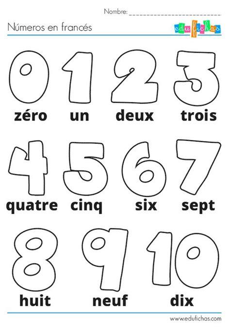 imagenes educativas para imprimir y colorear ficha de actividades infantiles con los n 250 meros en franc 233 s