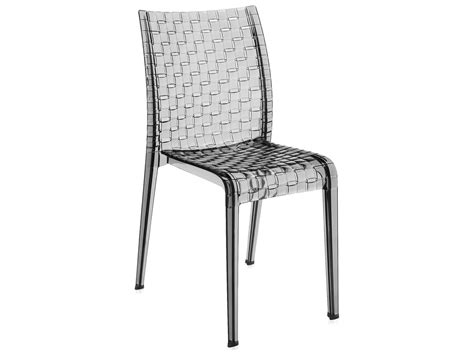 Kartell Dining Chairs Kartell Ami Ami Transparent Smoke Dining Side Chair Sold In 2 Kar5820p9