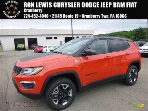 2017 jeep orange 2017 jeep compass trailhawk 4x4 in spitfire orange