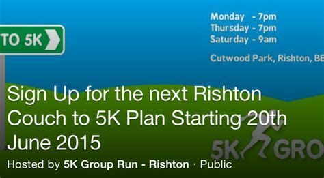 off the couch to 5k rishton first rishton couch to 5k 20th june 2015