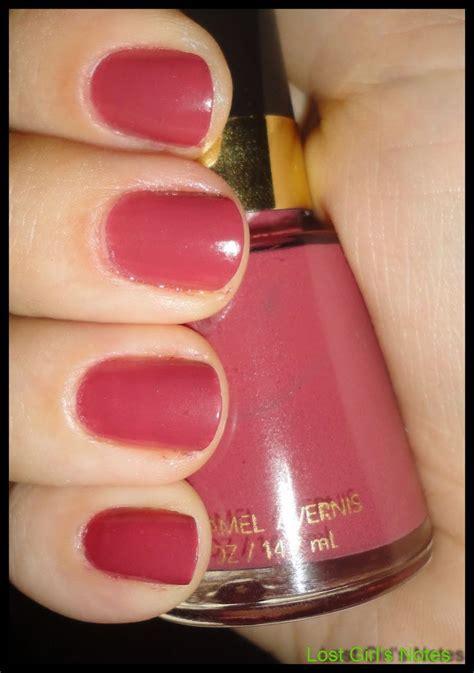 revlon nail revlon teak swatches and review nails