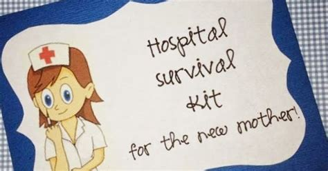 Survival Kit For 20 Something what a beautiful mess hospital survival kit for