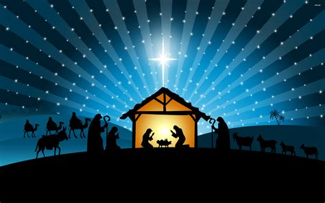 nativity scene desktop wallpaper 183