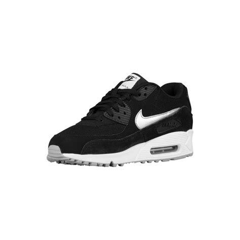 black nike air max running shoes silver nike air max 90 nike air max 90 s running
