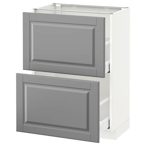 metod maximera base cabinet with 2 drawers white grevsta metod maximera base cabinet with 2 drawers white bodbyn