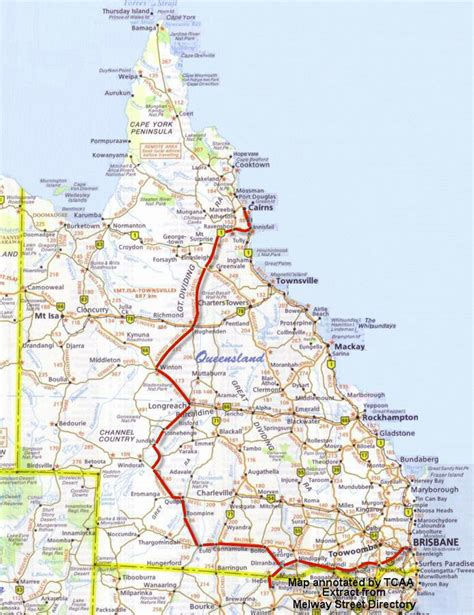 printable qld road map aussie 4x4 adventures guided tag along and private tours