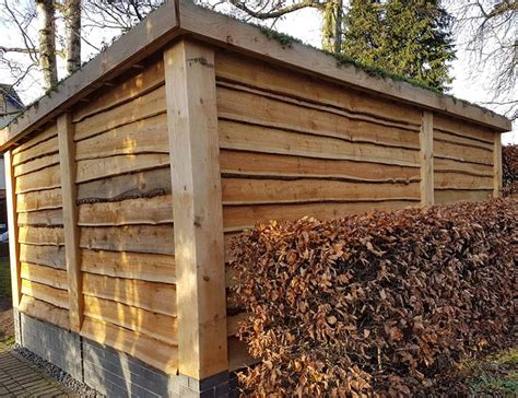 Sheds In Leicestershire by Stonetree Landscapes Portfolio Bespoke Shed Sedum Roof