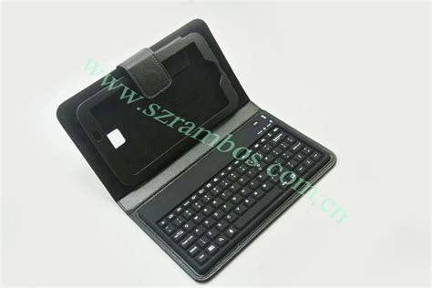 Galaxy Tab 3 7 0 P3200 7 Inch 7 inch tablet keyboard folding stand wireless bluetooth keyboard cover for samsung galaxy