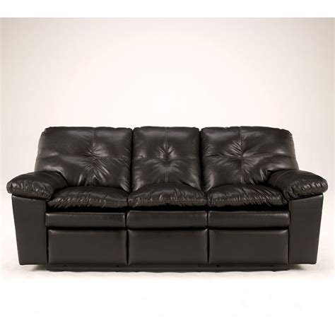 San Marco Sofa by San Marco Durablend Chocolate Reclining Sofa Signature