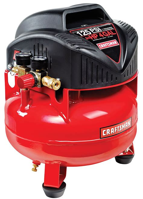 craftsman 3 gallon 1 0 hp lubricated air compressor accessory kit 135 ebay
