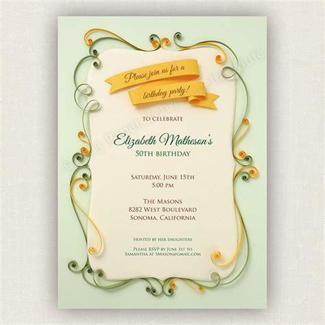 printable retro invitations 9 vintage birthday invitations jpg vector eps ai
