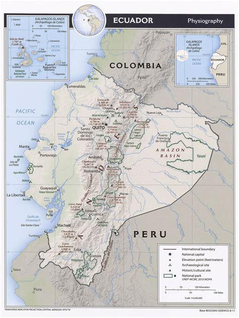 printable map quito ecuador maps perry casta 241 eda map collection ut library