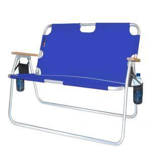 folding loveseat lawn chair com 44 quot royal blue quot sport couch quot folding rust
