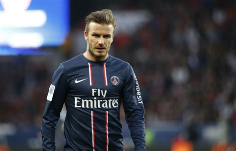 David Beckham Has by David Beckham To Barcelona In Quarter Finals Of