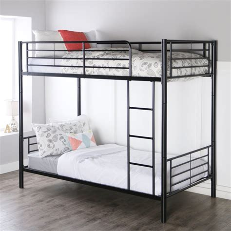 Space Saving Design Cheap Wrought Iron Double Bed Metal Bunk Beds