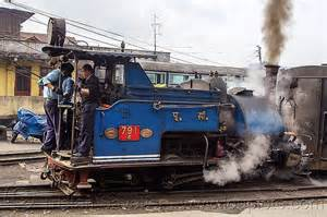 Steam locomotive pulling train darjeeling india 791 darjeeling