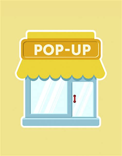 pop up retail store merchandise and window display guide