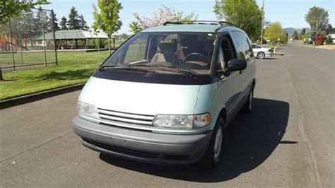 car owners manuals for sale 1997 toyota previa engine control sell used 1997 toyota previa le mini passenger van 3 door 2 4l in cornelius oregon united states