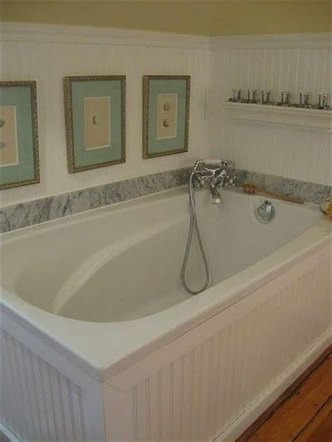 beadboard around bathtub bead board around tub bath ideas juxtapost