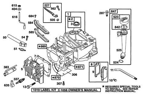 briggs stratton parts diagram parts diagram for briggs and stratton 594989 wiring