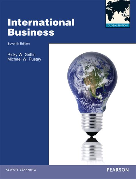 pearson education international business global edition