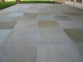 Easy Patio Pavers Mosaic Landscapes View Picture Sandstone Pavers
