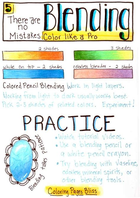 colored pencil techniques coloring book best 25 coloring ideas on