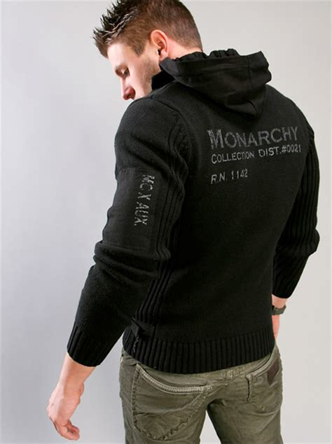 Jaket Hoodie Dropdead Sonic monarchy hoody sweater the awesomer