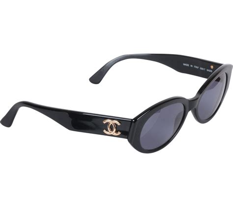 Kacamata Sunglass Chanel 203 Black chanel black vintage sunglasses