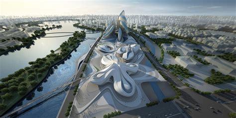 Changsha Meixihu International Culture Center – Zaha Hadid ...