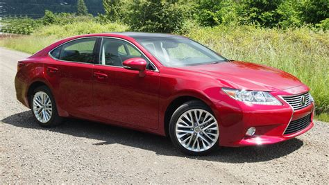 red lexus lexus es 350 2013 red