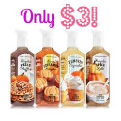 Bath amp body works pumpkin hand soap only 3 today only stock up