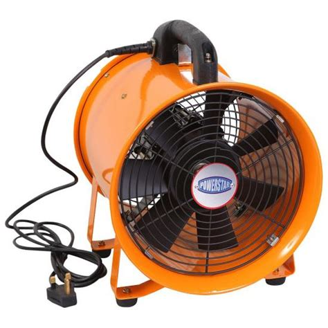 pvc duct industrial portable ventilator extractor