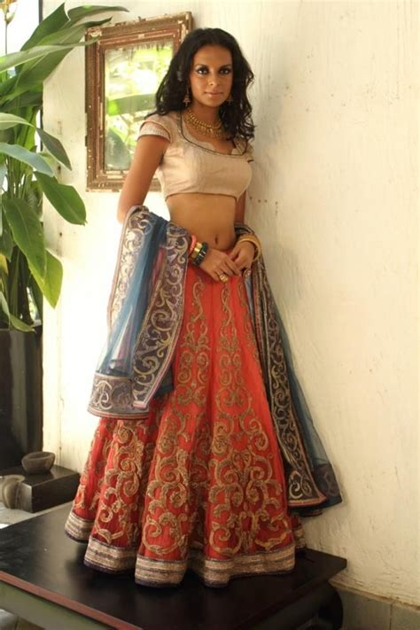 nice color combination  sangeet bridal outfits