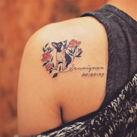 tattoo ideas for dog the 25 best ideas about dog tattoos on pinterest pet