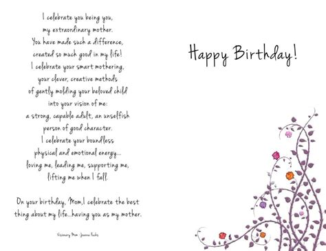 printable birthday cards for your mom free printable birthday card for mom template update234