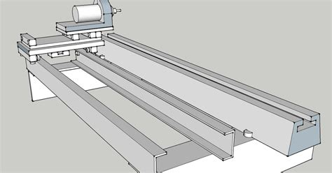 Project Notes Router Lathe Rails And Carriage