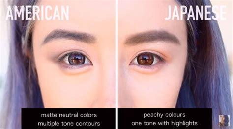 Make Up Di Jepang inilah perbedaan utama antara tren make up jepang dan barat kawaii japan