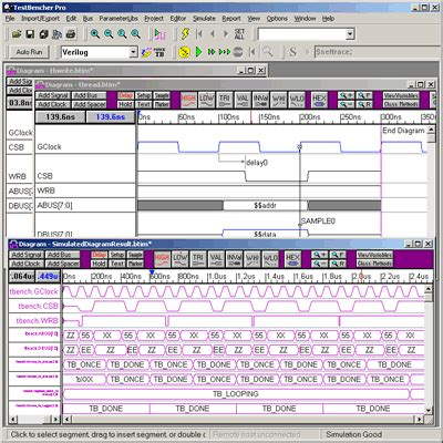 timing diagram software timing diagram option