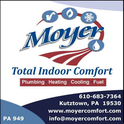 total comfort solutions inc moyer total indoor comfort kutztown pennsylvania pa