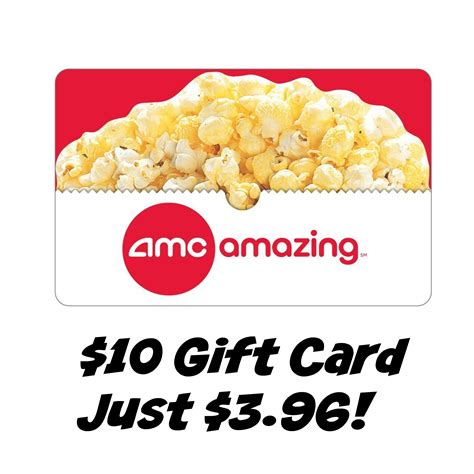 Amc Gift Cards At Cvs - hot 10 amc theatres gift card just 3 96