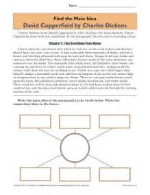 main idea and supporting details worksheets 4th grade