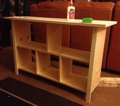 make a sofa table how to build a sofa table easy diy step by step